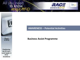 AWARENESS – Potential Activities
