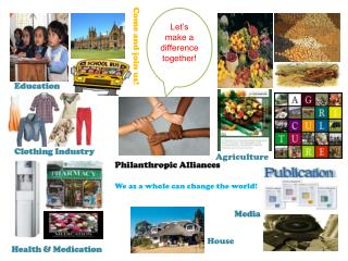 Philanthropic Alliances
