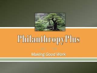 PhilanthropyPlus