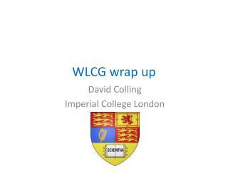 WLCG wrap up