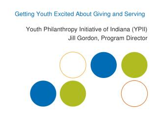 Getting Youth Excited About Giving and Serving