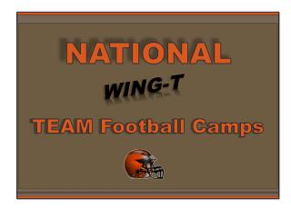 NATIONAL TEAM Football Camps