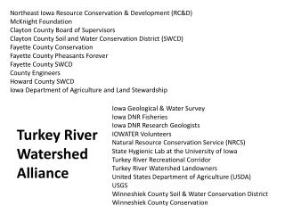 Northeast Iowa Resource Conservation & Development (RC&D) McKnight Foundation