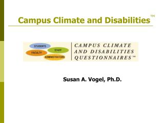 Campus Climate and Disabilities
