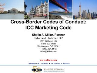 Cross-Border Codes of Conduct:  ICC Marketing Code