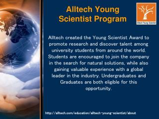 Alltech Young Scientist Program