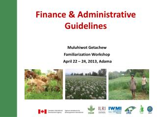 Finance & Administrative Guidelines
