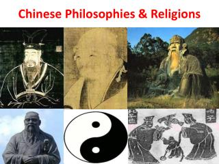Chinese Philosophies & Religions