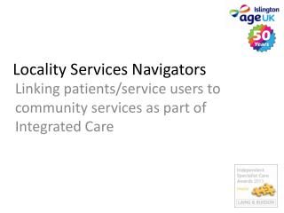 Locality Services Navigators