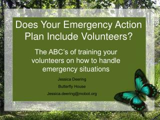 Does Your Emergency Action Plan Include Volunteers?