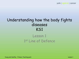 Understanding how the body fights diseases  KS1