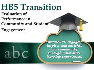 HB5 Transition