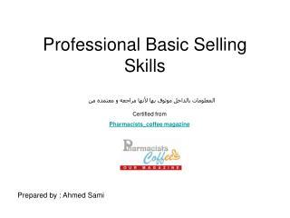 Professional Basic Selling Skills