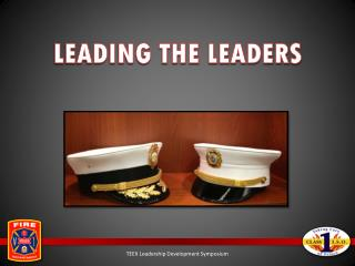 LEADING THE LEADERS