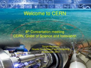 Welcome to CERN