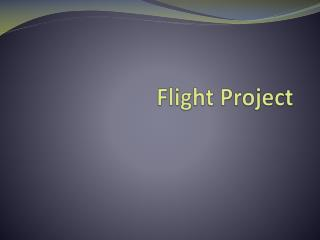 Flight Project