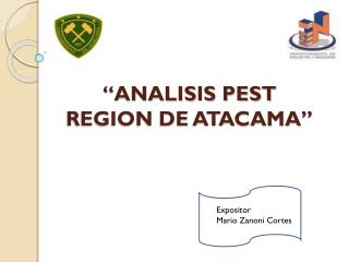 """ANALISIS PEST REGION DE ATACAMA"""