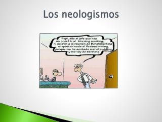 Los neologismos
