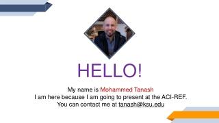 ACI programming fundamentals