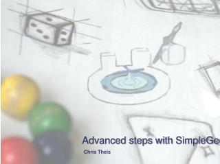 Advanced steps with  SimpleGeo