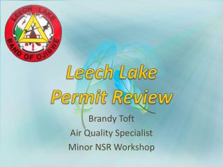 Leech  Lake  Permit Review