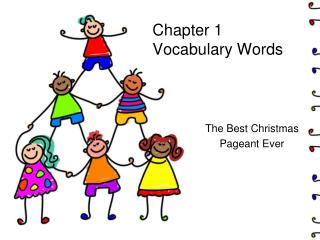 Chapter 1 Vocabulary Words