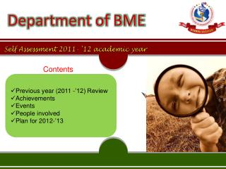 Self Assessment 2011- '12 academic year