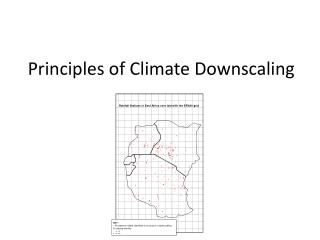 Principles of Climate Downscaling