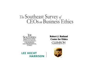 Robert J. Rutland Center for Ethics