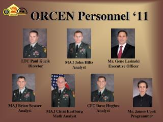 ORCEN Personnel  ' 11
