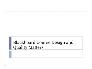 Web Services and Blackboard