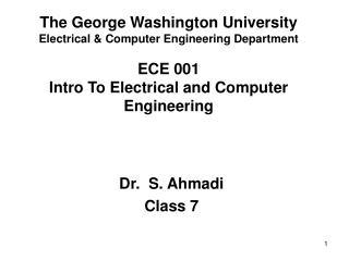 Dr.  S. Ahmadi Class 7