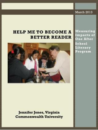 Help Me to Become a Better  Reader
