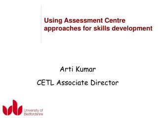 Using Assessment Centre approaches for skills development