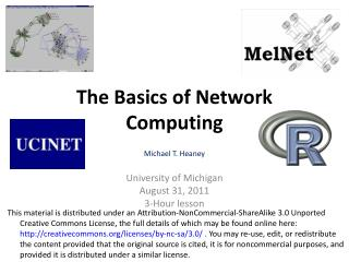 The Basics of Network Computing