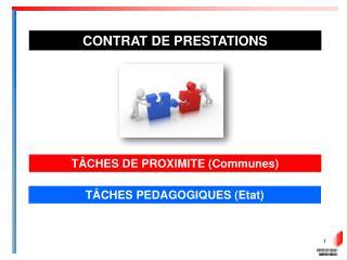 TÂCHES DE  PROXIMITE (Communes)