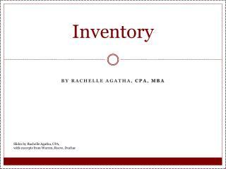 Inventory