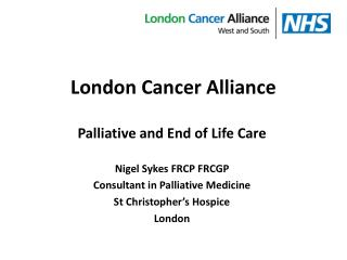 London Cancer Alliance