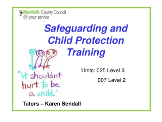 Overview of Working Together to Safeguard Children, 2010