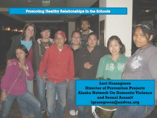 Promoting Healthy Relationships In the Schools