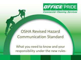OSHA Revised Hazard Communication Standard