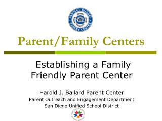 Parent/Family Centers