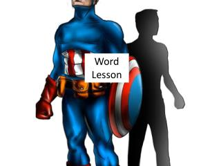 Word Lesson