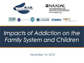 Impacts of Addiction on the Family System and Children