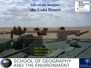 Starter: Background of the Gobi Desert – A land of extremes