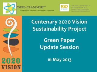 Green Paper Update Session