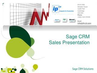Sage CRM Sales Presentation