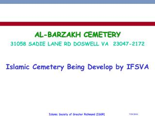 AL-BARZAKH CEMETERY
