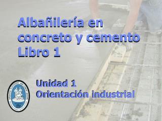 Unidad 1 Orientación  i ndustrial