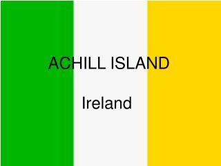 ACHILL ISLAND Ireland